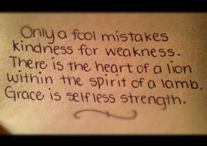 fool for weakness